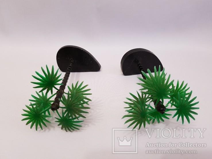 2 пальмы , цена клеймо СССР одним лотом . 12.5 см., фото №3