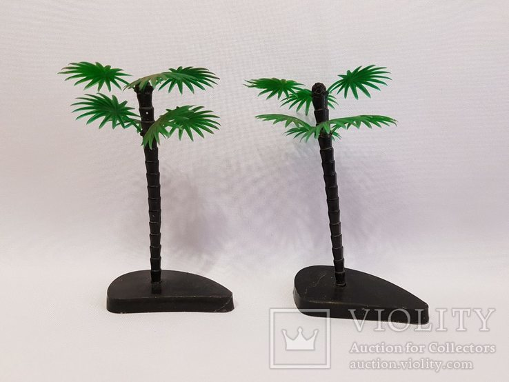 2 пальмы , цена клеймо СССР одним лотом . 12.5 см., фото №4