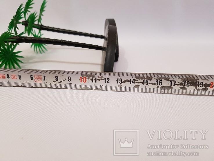 2 пальмы , цена клеймо СССР одним лотом . 12.5 см., фото №6