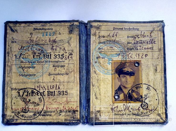 Копия.удостоверения 3 рейх. люфтваффе, фото №4