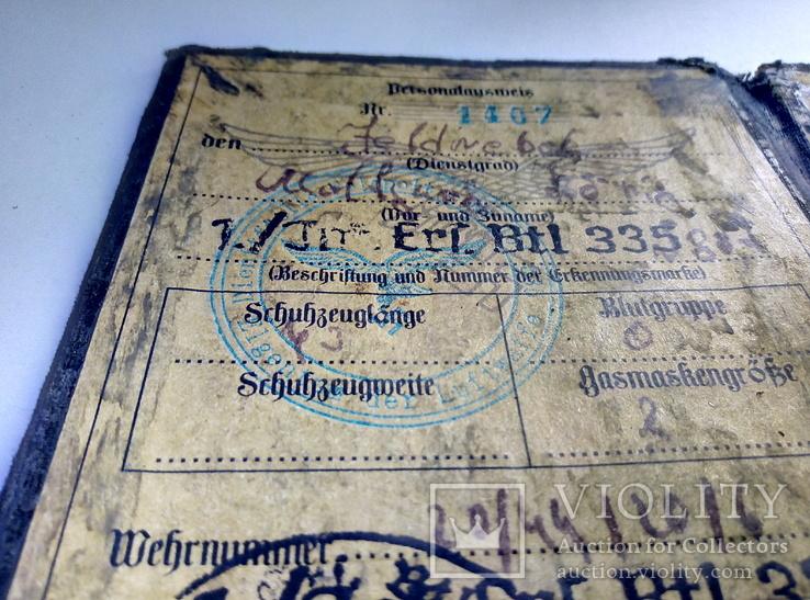 Копия.удостоверения 3 рейх. люфтваффе, фото №5