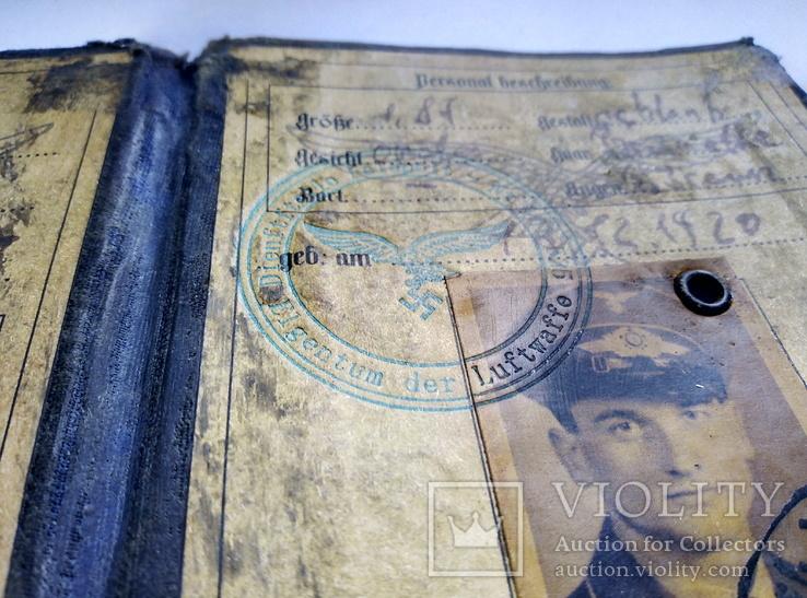 Копия.удостоверения 3 рейх. люфтваффе, фото №6