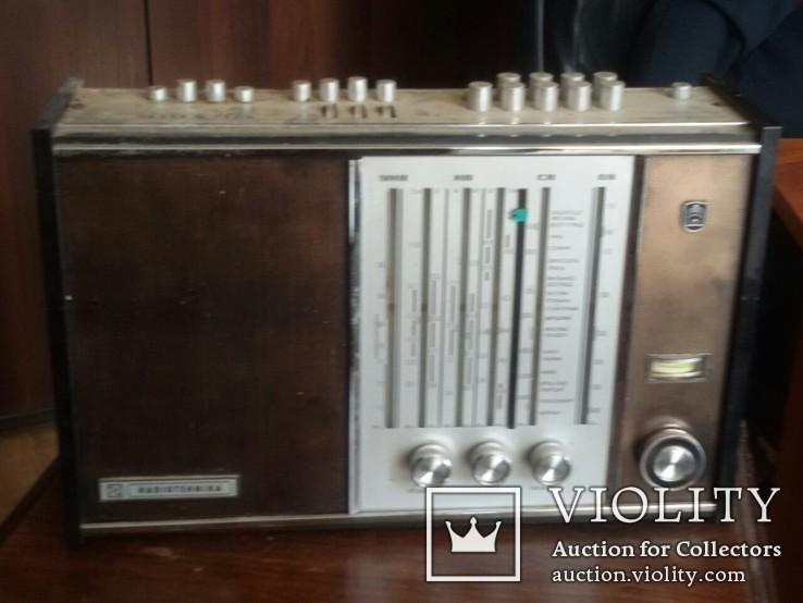 Радиоприёмник Рига-104. Рижский радиозавод имени А.С.Попова. Выпуск рп с 1973 года.