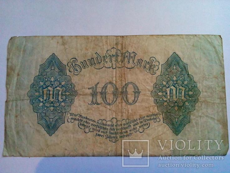 100 марок 1922 год. Германия., фото №3