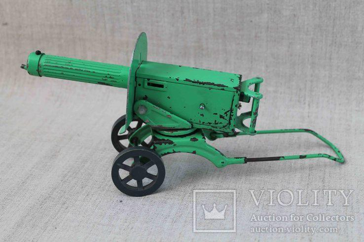 Пулемет Максим игрушка СССР