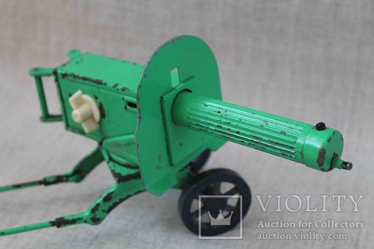 Пулемет Максим игрушка СССР, фото №4