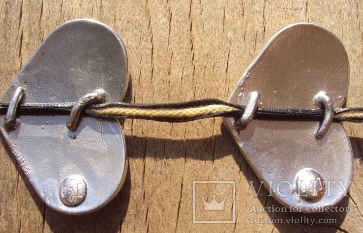 Оригинальное ожерелье, серебро 925, Италия., фото №10