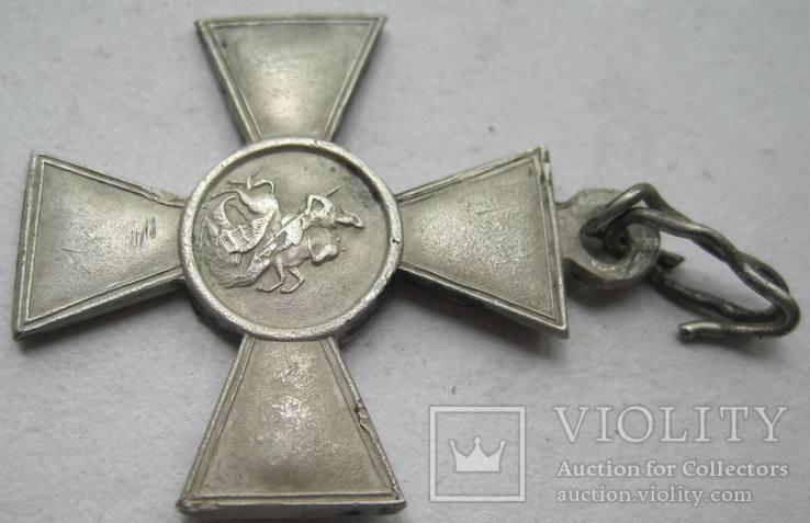 Георгиевский крест 4 ст. 273035 с определением на улана, фото №9