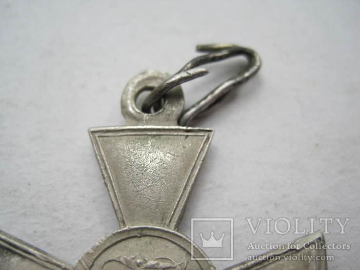 Георгиевский крест 4 ст. 273035 с определением на улана, фото №12