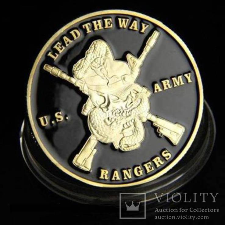 Airborne US.Army ranger - жетон медаль, фото №3