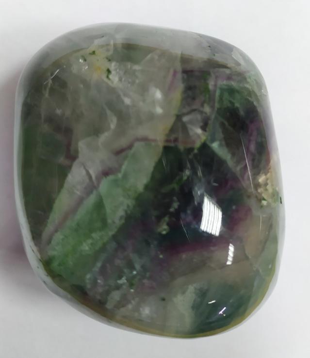 Образец в коллекцию минералов. Флюорит. Галтель флюорита., фото №3