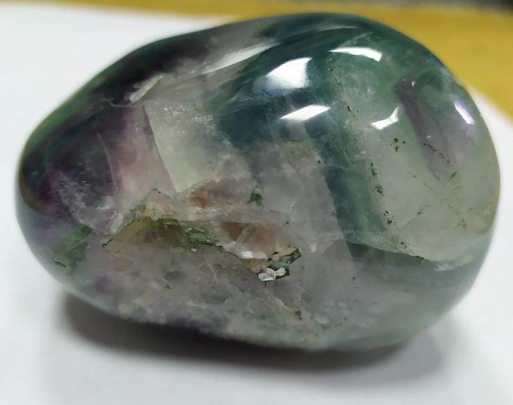 Образец в коллекцию минералов. Флюорит. Галтель флюорита., фото №4