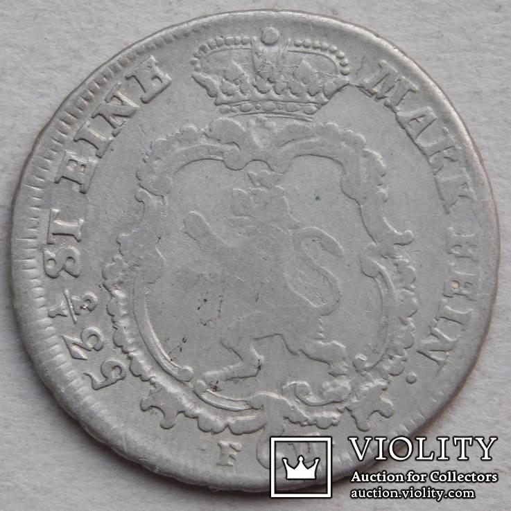 1/4 талера 1767 Гессен-Кассель Германия, фото №3