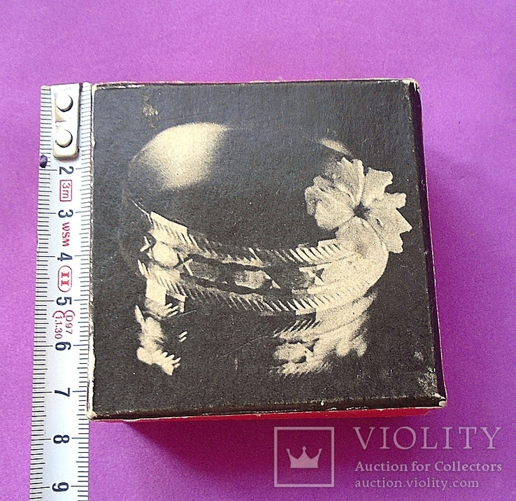 Коробка для ювелирки. Производство СССР., фото №2
