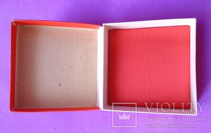 Коробка для ювелирки. Производство СССР., фото №4