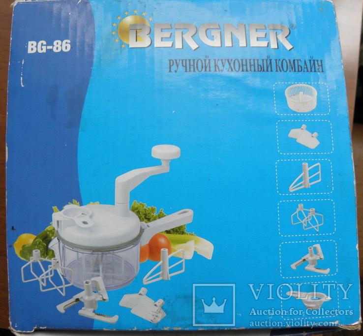 Ручной кухонный комбайн Bergner  Новый, фото №3