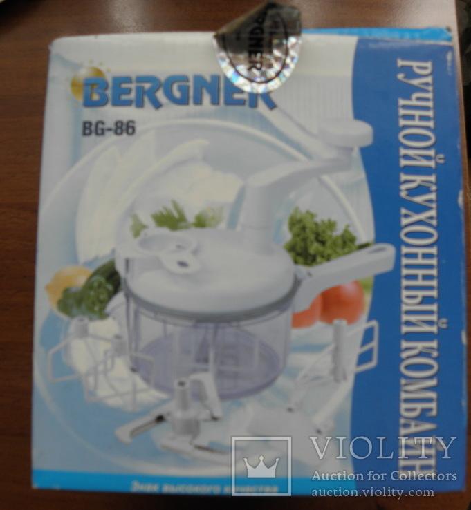 Ручной кухонный комбайн Bergner  Новый, фото №5