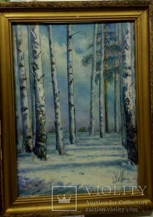 Подписной пейзаж., фото №2