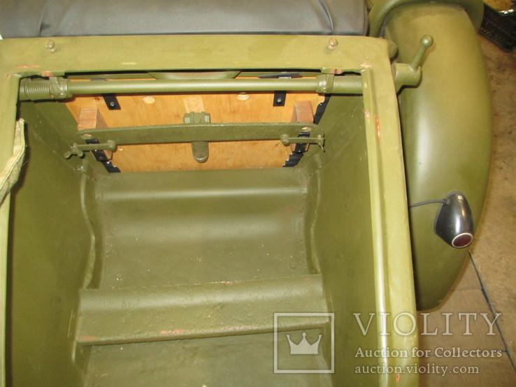 Комплект прижимных пластин для прижатия трёх ящиков с дисками ДП в коляску мотоцикла М-72, фото №8