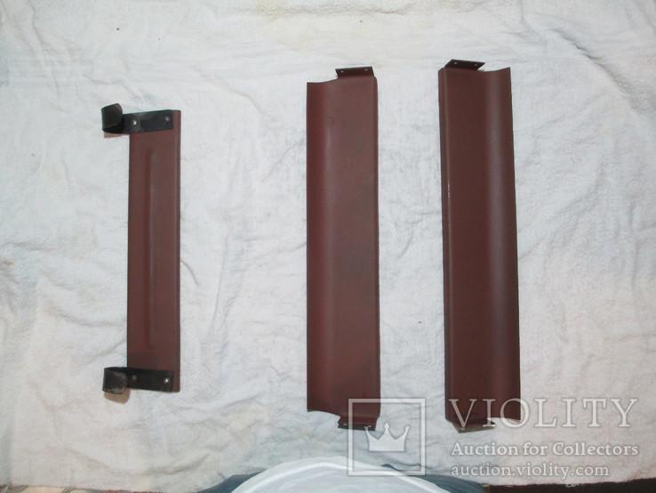 Комплект прижимных пластин для прижатия трёх ящиков с дисками ДП в коляску мотоцикла М-72, фото №9