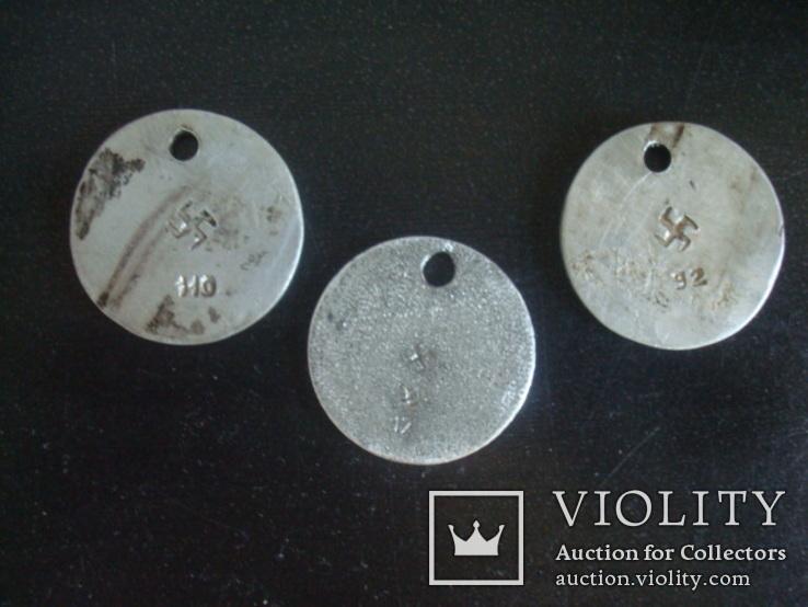 Номерки,жетоны,Немецкий гардероб СС 1941-45гг., фото №2