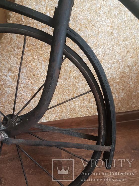 Велосипед старый МВЗ 1930-1940-гг, фото №5