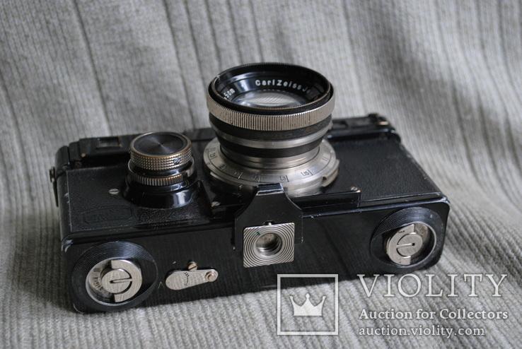 Фотоаппарат Contax № X 62436, Sonnar 2/5 cm № 1518461 №3, фото №6