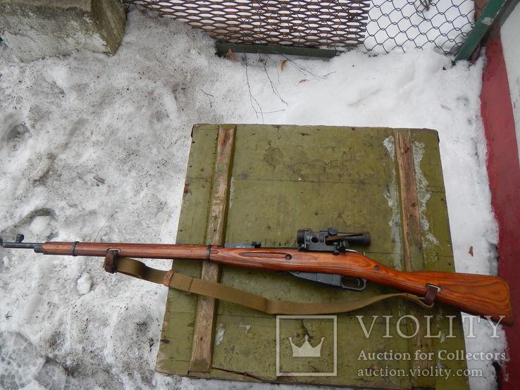 Ммг снайперская винтовка мосина