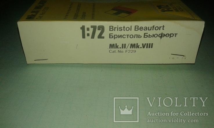Британский торпедоносец-бомбардировщик Bristol Beaufort 1:72, фото №4