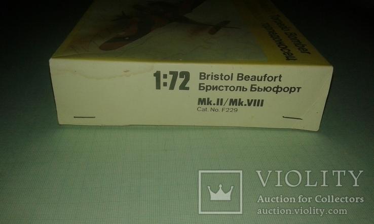 Британский торпедоносец-бомбардировщик Bristol Beaufort 1:72, фото №6