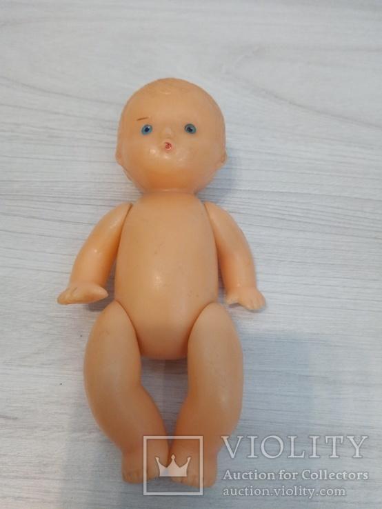 Кукла пупс на резинках СССР Целлулоид, фото №3