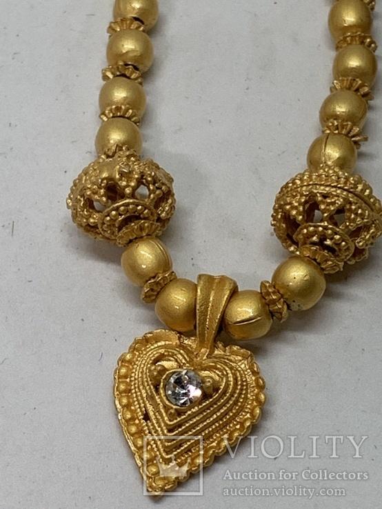 Новые серьги+ожерелье в наборе компании из Германии Jewelry earring, фото №3