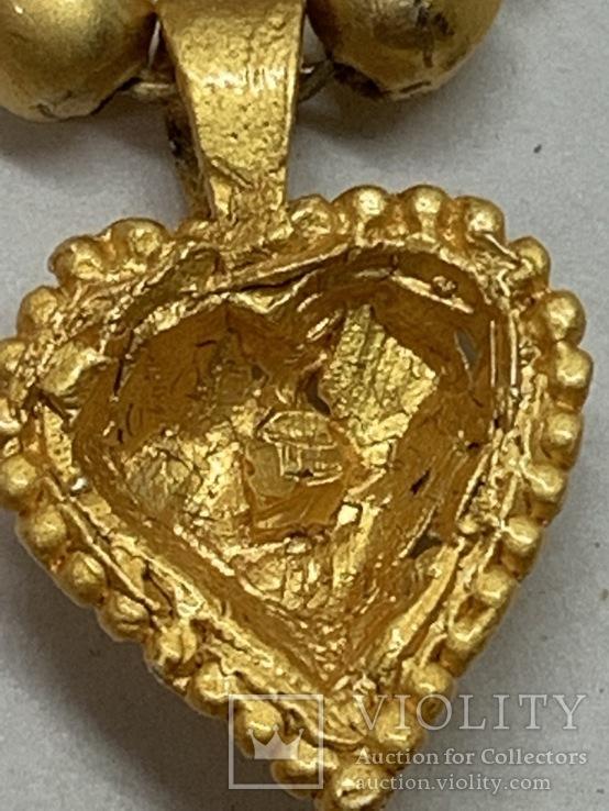 Новые серьги+ожерелье в наборе компании из Германии Jewelry earring, фото №8