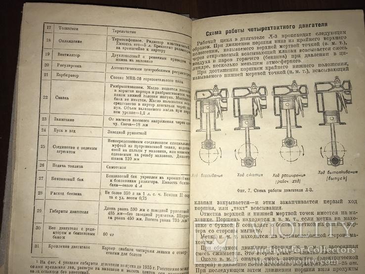 1935 Руководство по обслуживанию двигателя Л-3, фото №6