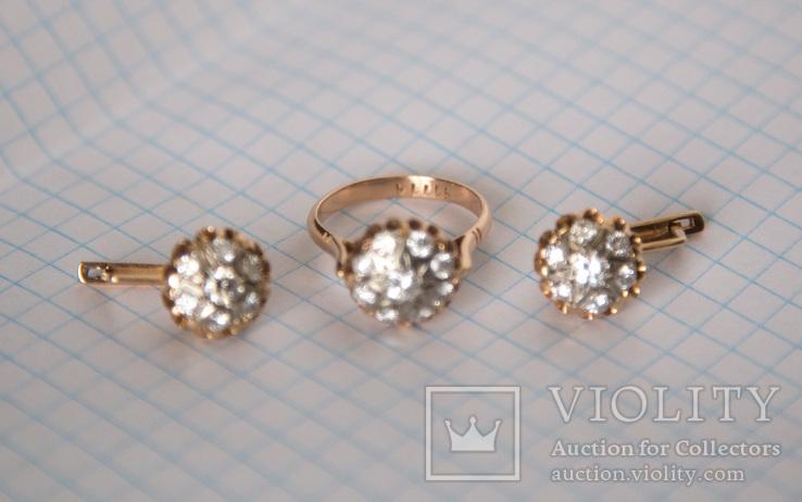 Комплект с бриллиантами, фото №12