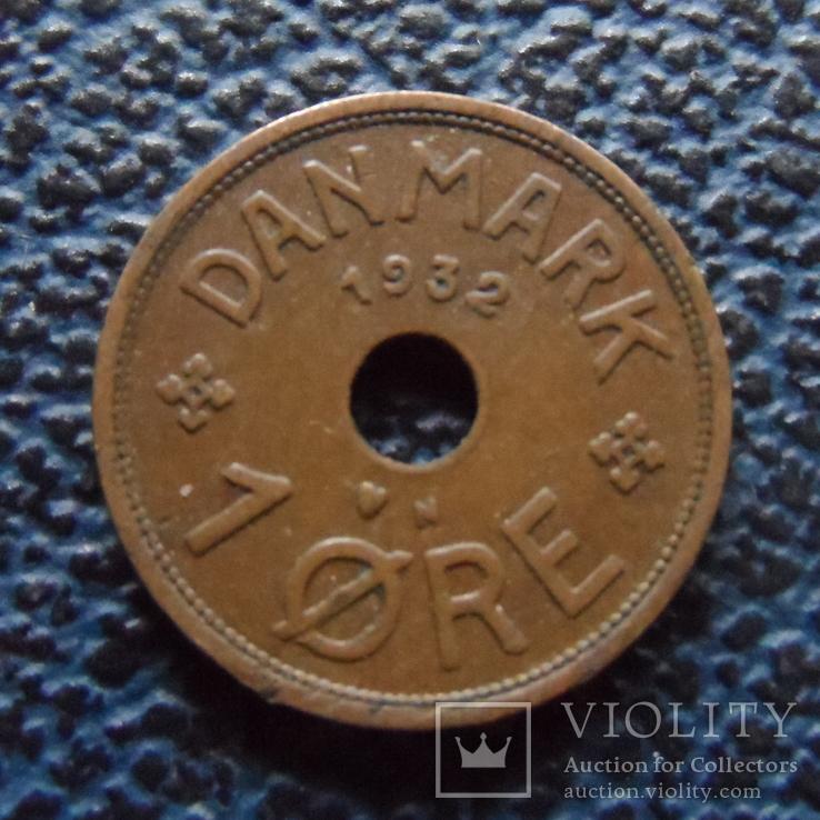 1  эре 1932  Дания   (,11.4.43)~, фото №2