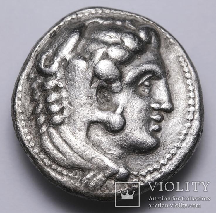 Срібна тетрадрахма Александра ІІІ Великого, 336-323 до н.е., фото №3