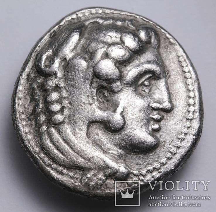 Срібна тетрадрахма Александра ІІІ Великого, 336-323 до н.е., фото №4