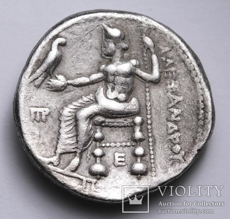 Срібна тетрадрахма Александра ІІІ Великого, 336-323 до н.е., фото №8