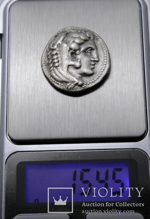 Срібна тетрадрахма Александра ІІІ Великого, 336-323 до н.е., фото №13