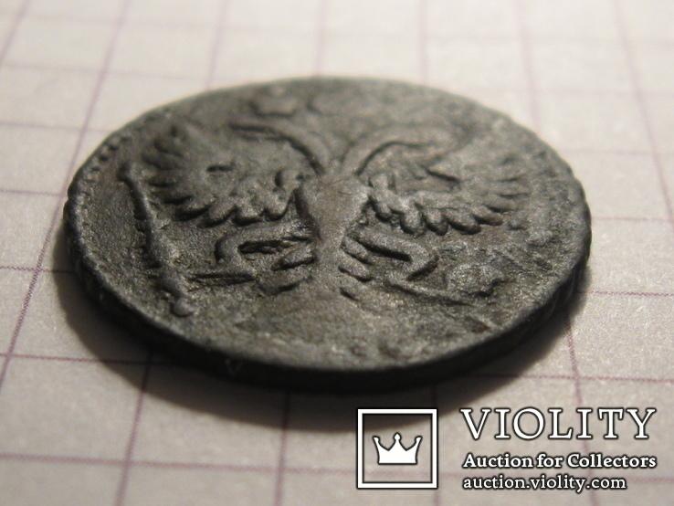 Полушка 1735 г. RR (цфн №28) и Полушка 1734 г. RR (цфн №2), фото №7