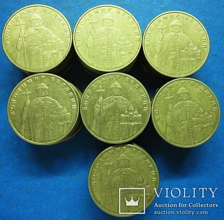 1 гривна 2004 ВВ 160 монет