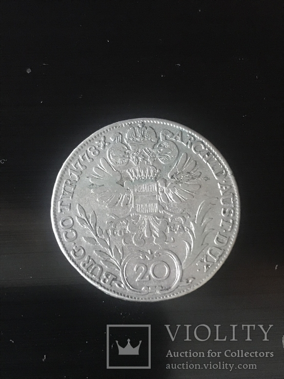 20 крейцеров 1778, фото №4