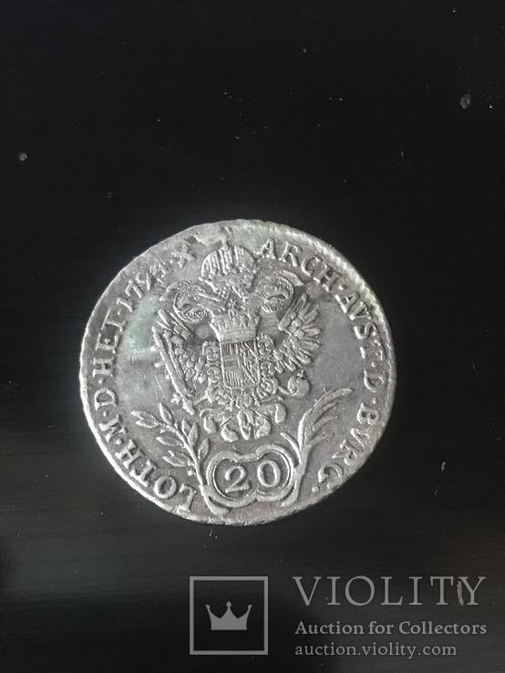 20 крейцеров 1794, фото №3