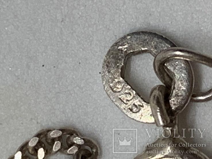 Винтажный набор из серебра компании TAXCO MEXICO 925., фото №8