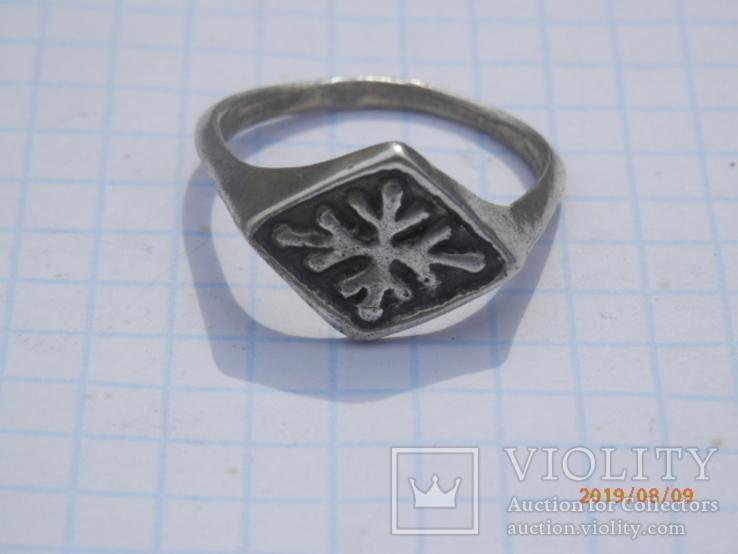 Перстенъ кр серебро копия, фото №2