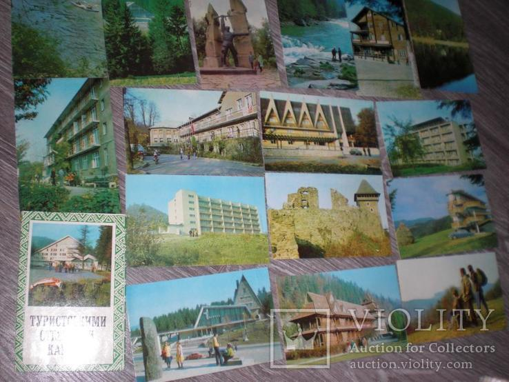 Набор открыток Карпати Туристськими стежками 16шт, фото №4