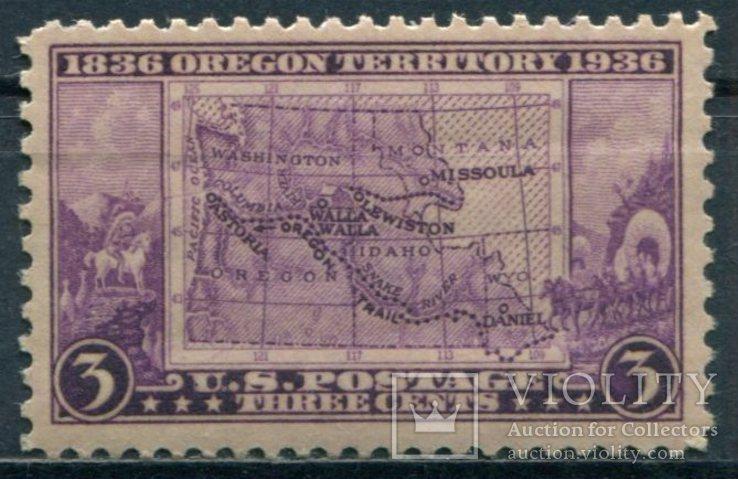 1936 США  Орегонская территория 3С, фото №2
