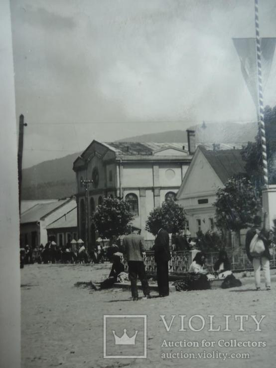 Иудаика Закарпатье Березное вид на Синагогу, фото №3