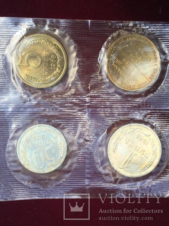 Годовой набор монет СССР 1968, фото №5